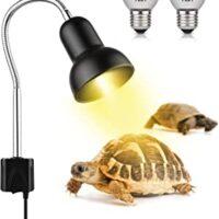 Turtle Tank Heating Lamp with Adjustable 360° Rotatable Lamp
