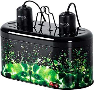 WACOOL Reptile Deep Dome Dual Heat Lamp Kit